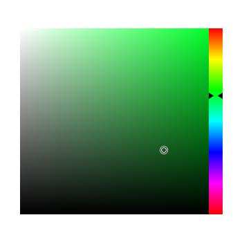 HSV color picker